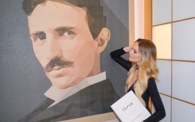 Swooning Over Tesla in Belgrade!