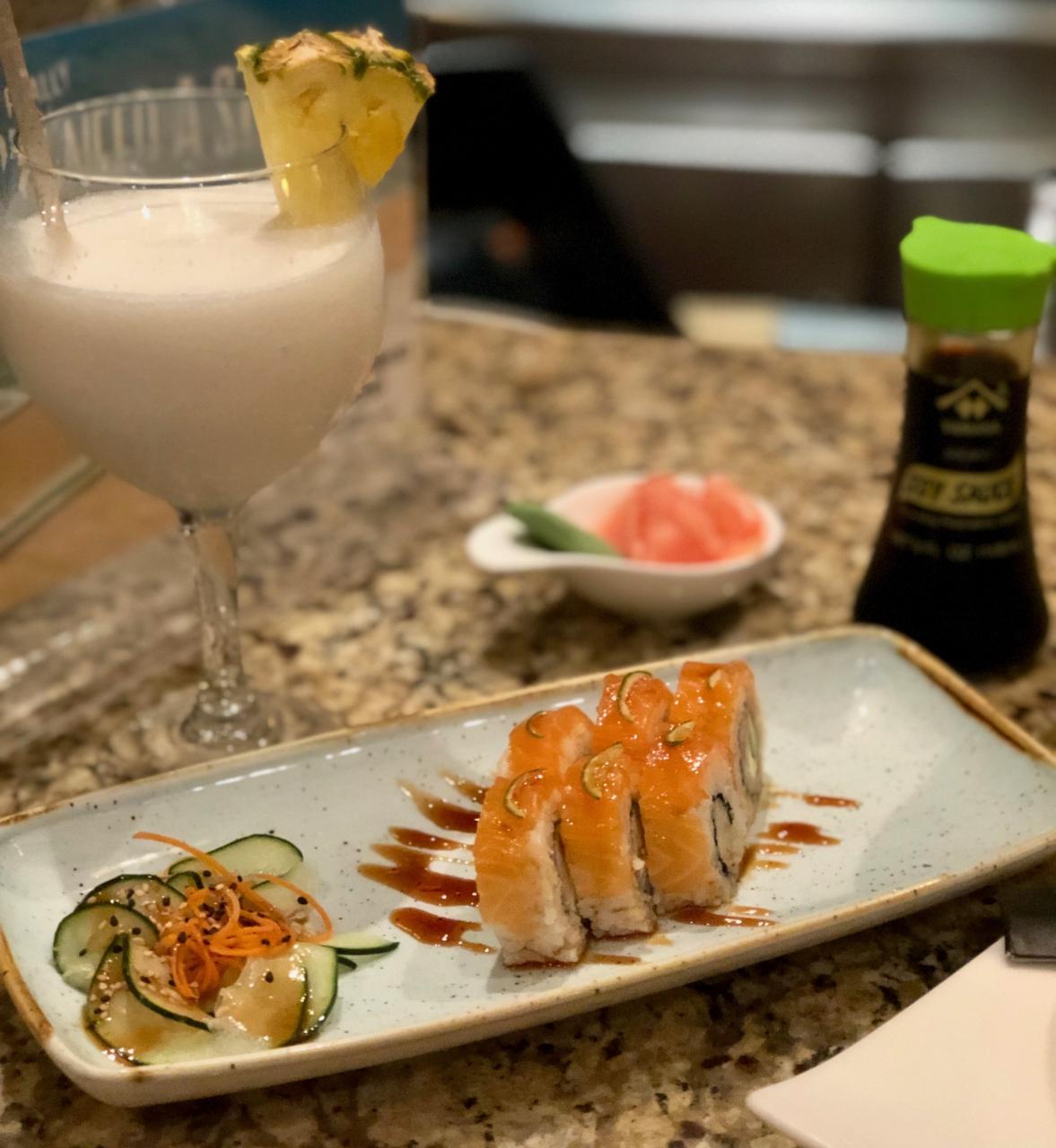 The sushi bar at The Sheraton, was so fresh and so so good!